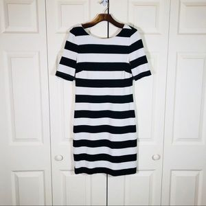 Banana Republic Classic bold stripe T-shirt dress